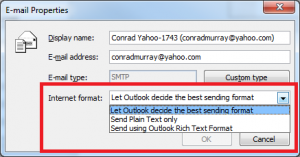 04. Outlook Recipient Preferences