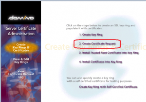 Create Certificate Request1