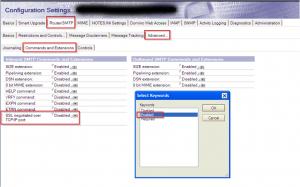 Enable TLS for SMTP Inbound mail
