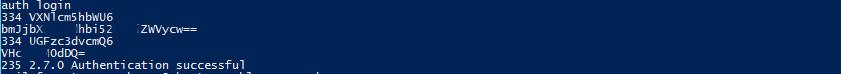 Exchange SMTP AUTH
