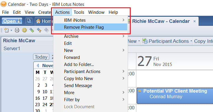 Just How Private are Lotus Notes Private Items? - Nero