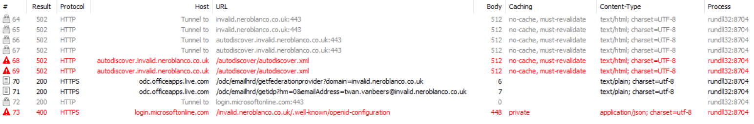 Autodiscover exposed - Nero Blanco End-to-End IT Migration