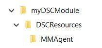 DSC Folder Structure