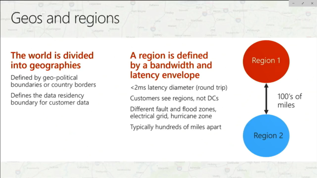 Geos and Regions