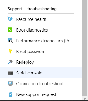 VM troubleshooting in Azure - Nero Blanco End-to-End IT