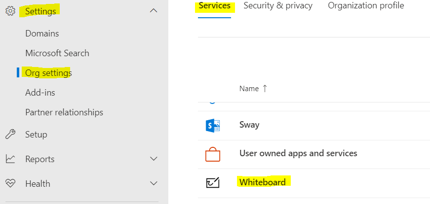Whiteboard In Office 365 And Teams